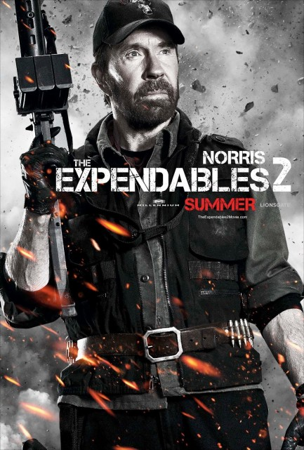 Expendables Chuck Norris Poster Expendables