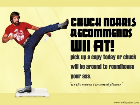 Wii Fit Chuck Norris