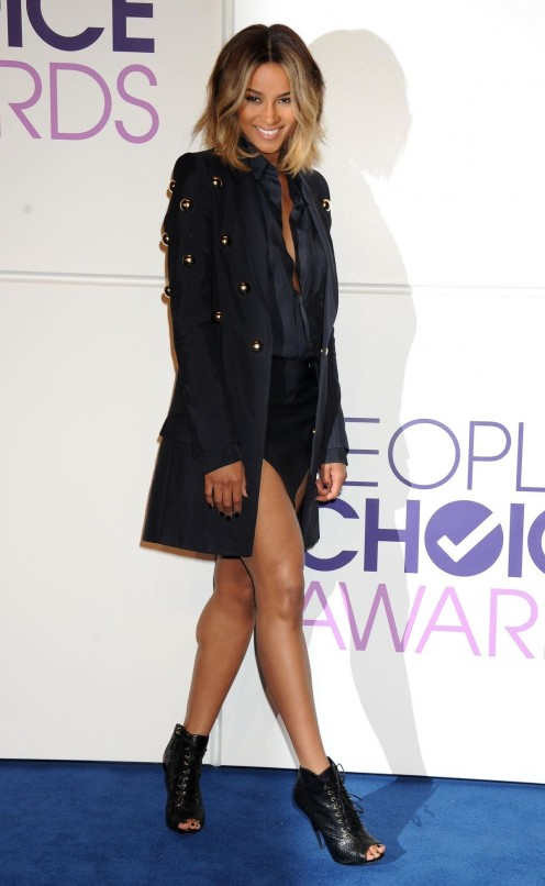 Ciara At People Choice Awards Nominations In Beverly Hills