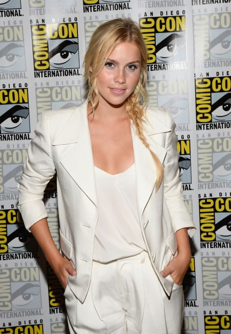 Claire Holt At The Originals Panel At Comic Con In San Diego Beach