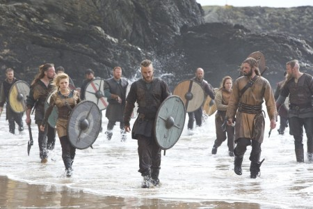 Picture Of Katheryn Winnick Travis Fimmel And Clive Standen In Vikings Dispossessed Large Picture Katheryn Winnick