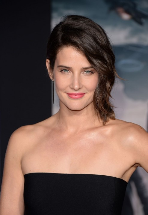 Cobie Smulders At Captain America The Winter Soldier Premiere In Hollywood