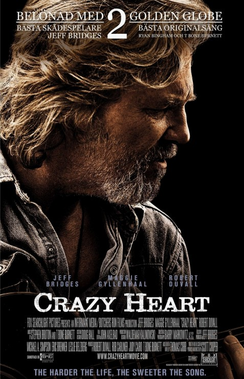 Crazy Heart Poster Movie