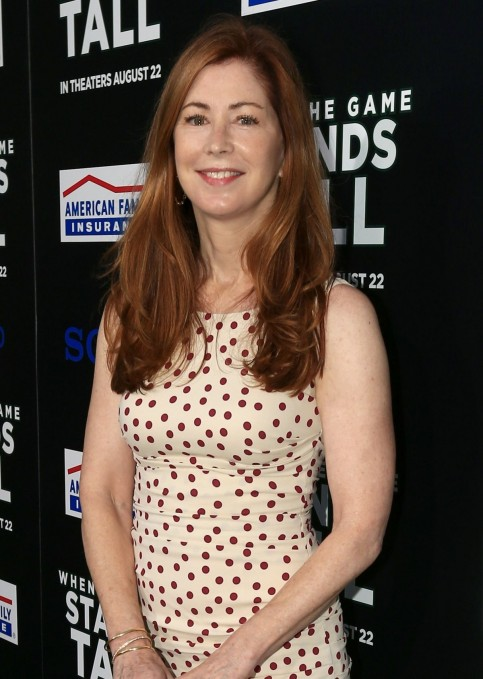Dana Delany At When The Game Stands Tall Premiere
