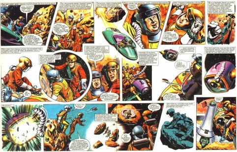 Dan Dare Space Rocks Movie