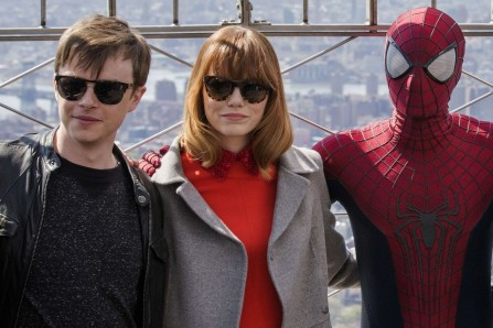 Amazing Spider Man Dane Dehaan Emma Stone Spiderman