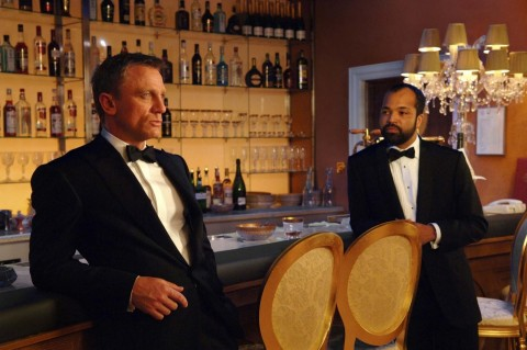 Still Of Daniel Craig And Jeffrey Wright In Casino Royale Large Picture Casino Royale