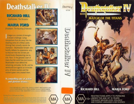 Deathstalker Iv Movie