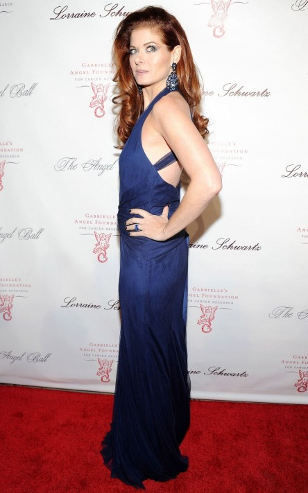 Debra Messing At Angel Ball In Nyc Along Came Polly