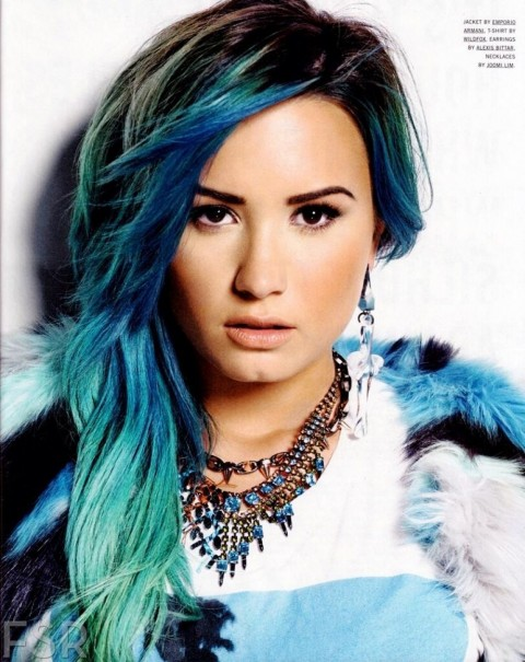 Demi Lovato In Nylon Magazine January Issue