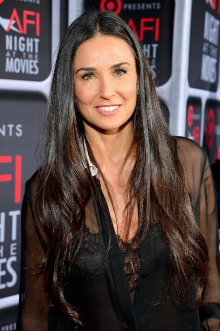 Demi Moore Afis Night At The Movies