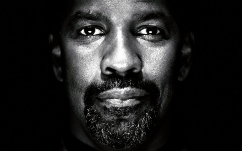 Denzel Washington Face From Vicinity Wallpaper Wallpaper