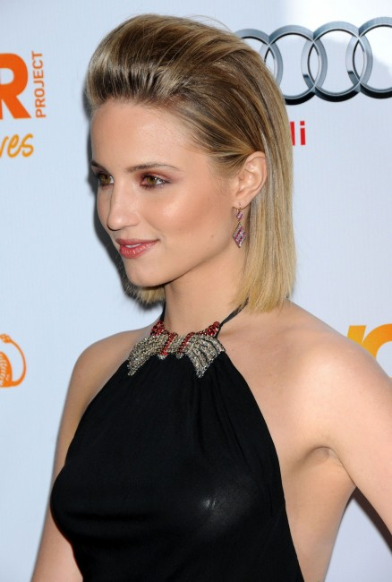 Dianna Agron At The Trevor Projects In Los Angeles Bikini