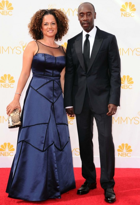 Emmys Don Cheadle Bridgid Coulter