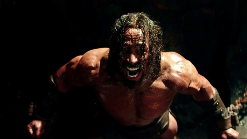 Hercules Dwayne Johnson Screaming Again Hercules