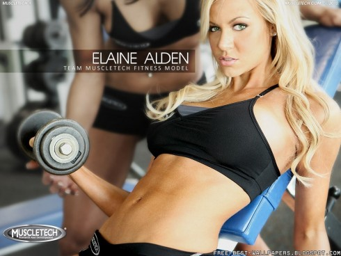 Elaine Alden Female Fitness Model Bestwallpaper Fitness Bmodel Gym