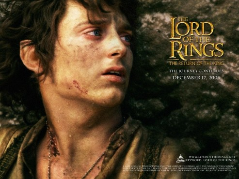 Elijah Wood Lord Of The Rings Wallpaper Normal