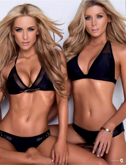 Maxim Ellie Gonsalves Renee Somerfield And Sheridyn Fisher Starbeatru