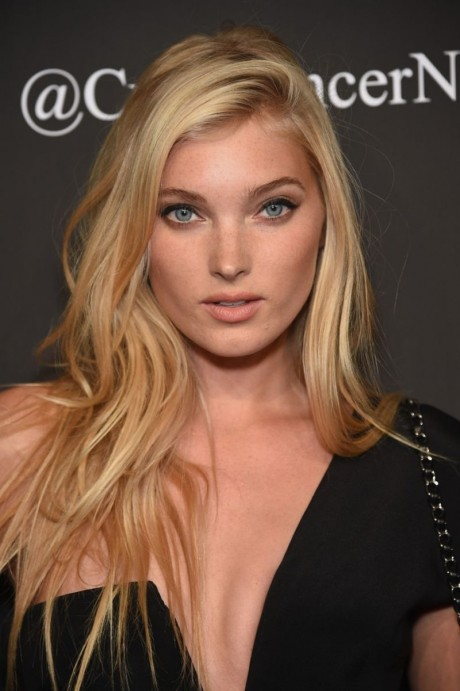 Elsa Hosk At Angel Ball In New York Beach