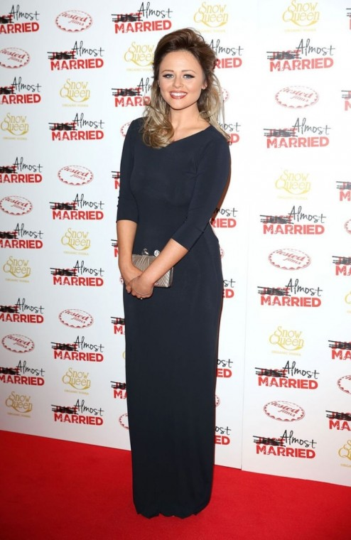 Emily Atack At Almost Married Screening Beach