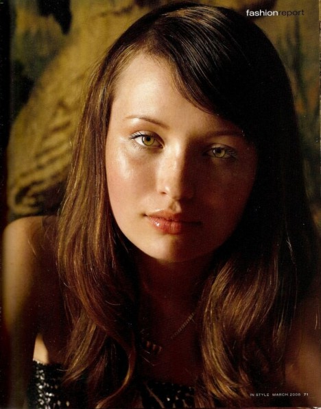Emily Browning Instyle Magazine Films