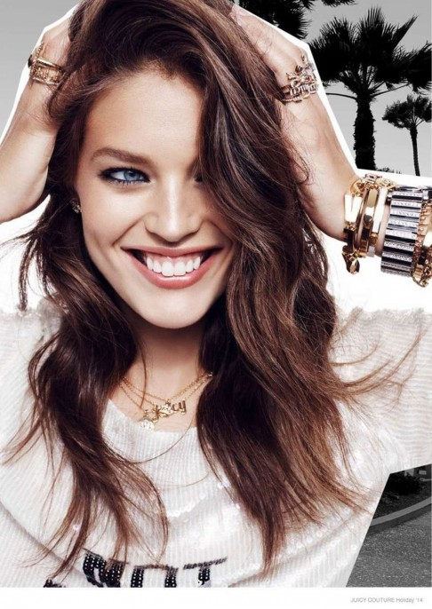 Emily Didonato Juicy Couture Holiday Lookbook