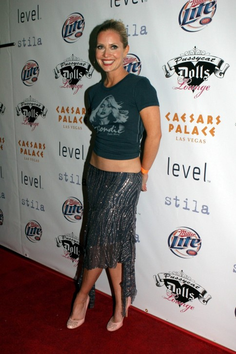 Pussycat Doll Lounge Opening Emily Procter Friends