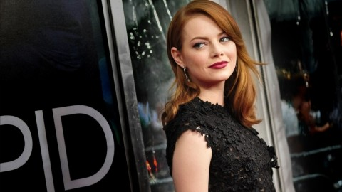 Emma Stone Amazing Spiderman Hd Wallpaper