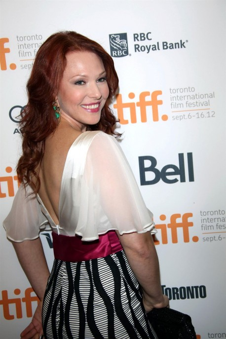 Erin Cummings At The Iceman Premiere At Toronto Film Fest Beach
