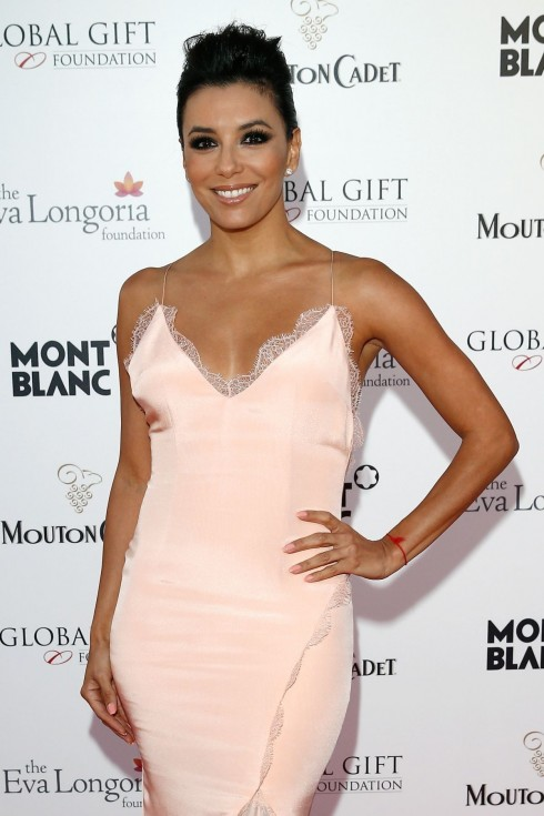 Eva Longoria Attends The Global Gift Gala During The Th Annual Cannes Film Festival