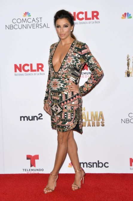 Eva Longoria Winner Walk During The Nclr Alma Awards