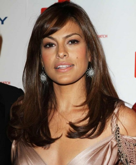 Eva Mendes Long Hairstyle Hair