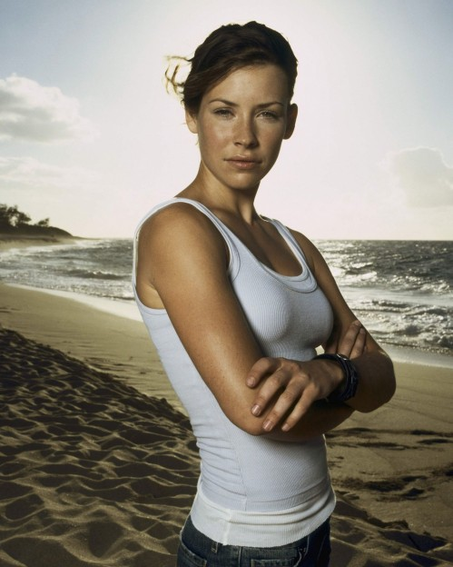 Lost Evangeline Lilly Freckles Kate Austen Dvdbash Lost