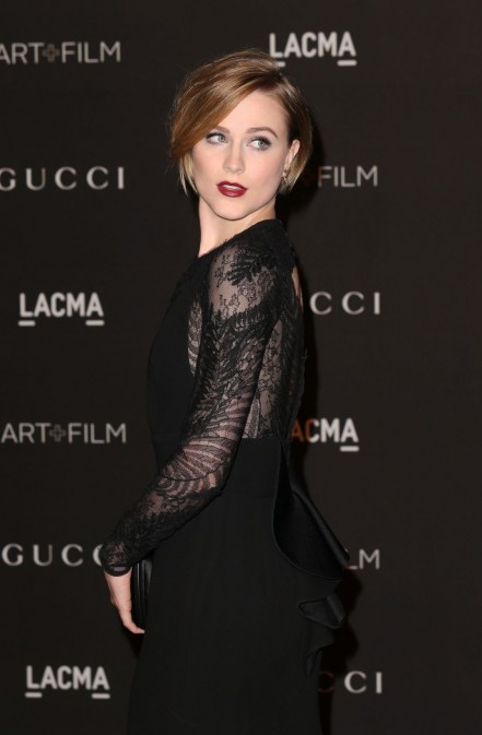 Evan Rachel Wood Appear At Lacma Art Film Gala In La