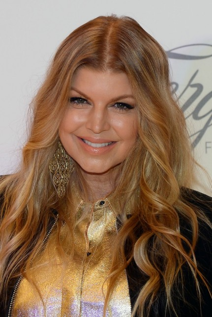 Fergie Duhamel At Macy At The Fashion Show In Las Vegas
