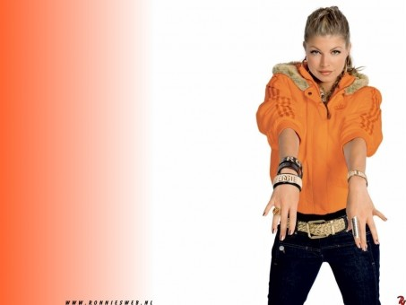Fergie Wallpaper Black Eyed Peas Wallpaper