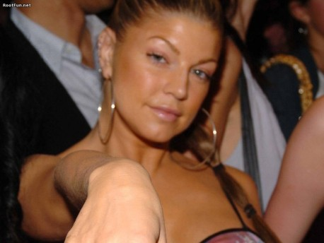 New Hair Style Of Fergie