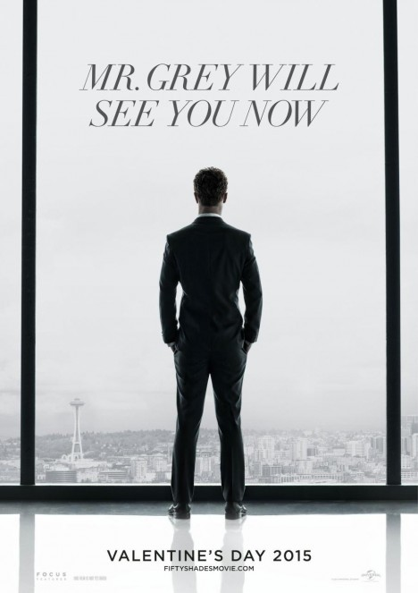 Fifty Shades Of Grey Teaser Poster Poster