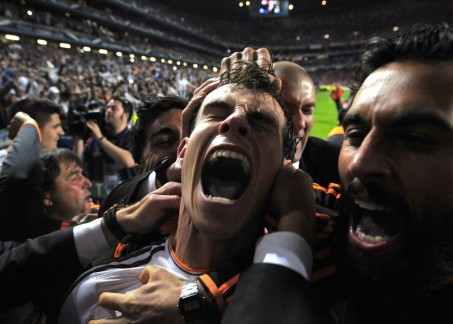 Gareth Bale Extreme Goal Celebration In Champions League Final Muscle