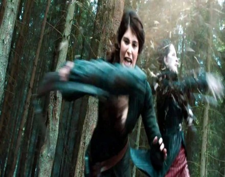 Gemma Arterton In Hansel And Gretel Witch Hunters Movie Hansel And Gretel