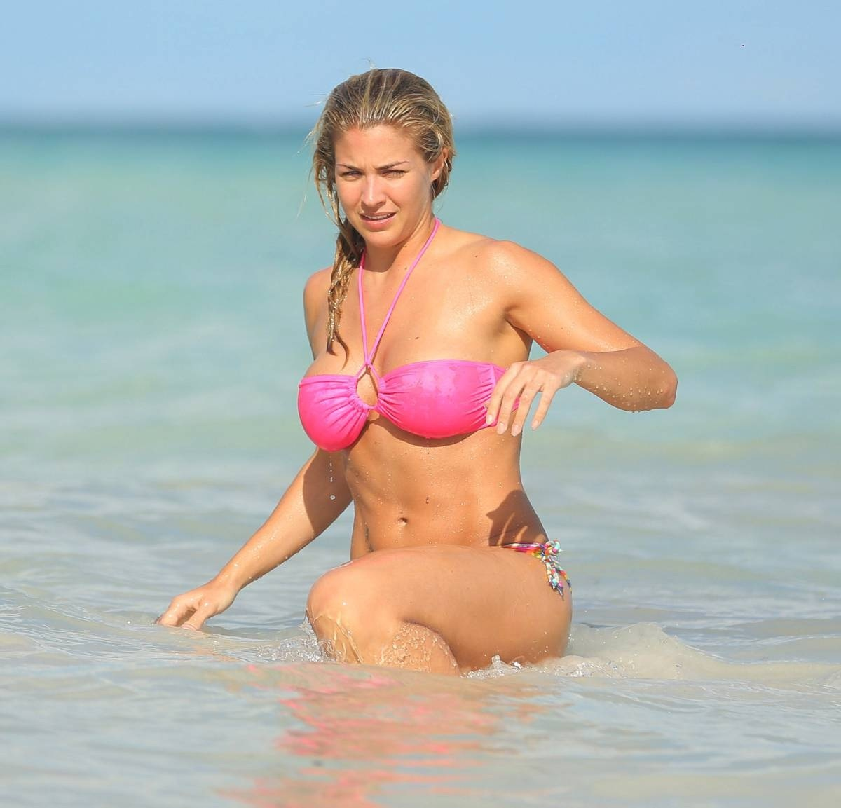 Gemma Atkinson Bikini Photos In Dominican Republic
