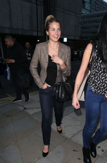 Gemma Atkinson Comes To Full Monty Press Night Manchester