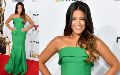 Alma Awards Red Carpet Gina Rodriguez