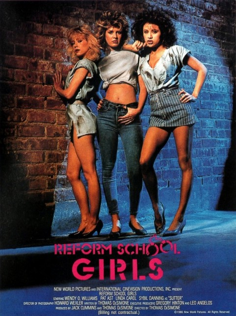 Reform School Girls Poster Movie
