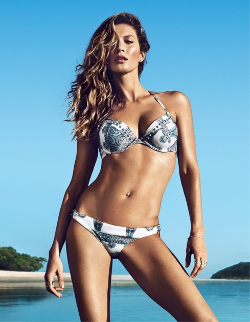 Hm Summer Gisele Bundchen Swimwear