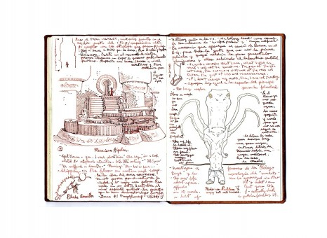 Slide Guillermo Del Toro Sketches The Roots Of Horror Illustrations
