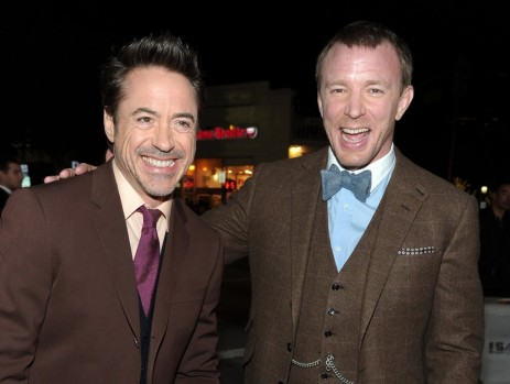 Guy Ritchie Robert Downey Jr Kept Laughs Going All Night