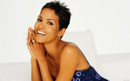 Halle Berry Laughing