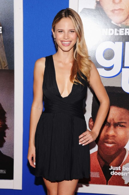 Halston Sage At Grown Ups Premiere In New York