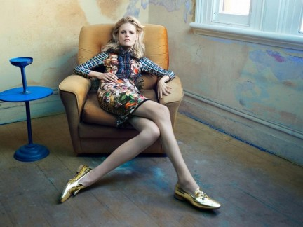 Hanne Gaby Odiele For Jasu Fall Campaign Weight Weight